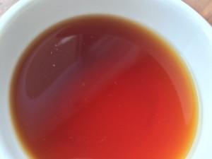 産毛(新芽のある茶葉の証)