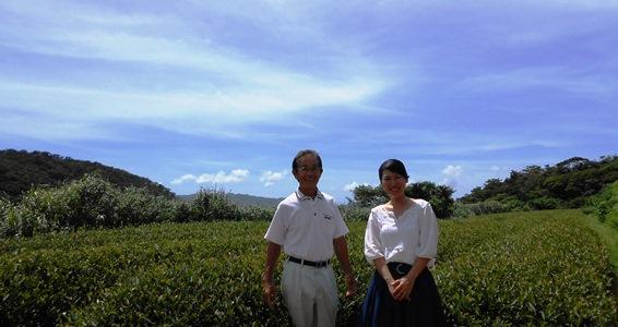 金川茶園 比嘉さんとの写真3